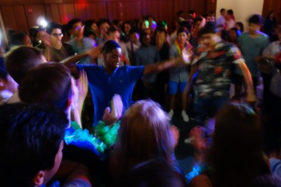 Exeter Summer students hit the dance floor.